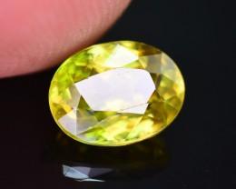 Top Dispersion 1.65 Ct Natural Titanite Sphene ~ ARA