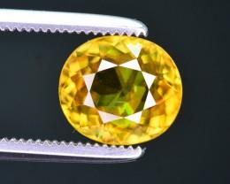 Superb Dispersion 1.75 Ct Natural Titanite Sphene ~ ARA