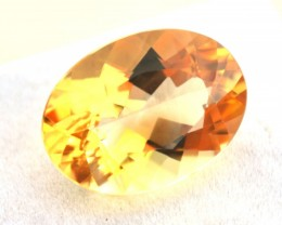 10.36 Carat Oval Cut Nice Golden Citrine