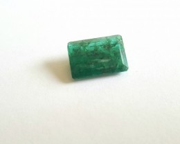 4.90 CTS - Emerald - Rectangular cut - Oiled - Brazil