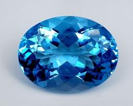 16.60Crt Swiss Blue Topaz  Best Grade Gemstones JI39