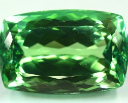NR ~ 51.60 Carat Lush Green Color Spodumene Gemstone