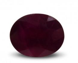 1.48 ct Oval Ruby gemstone