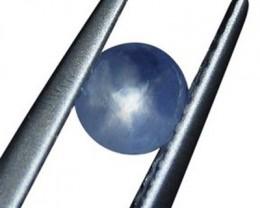 0.61 ct Unheated Blue Ceylon Star Sapphire