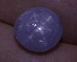4.48 ct Unheated Blue Ceylon Star Sapphire