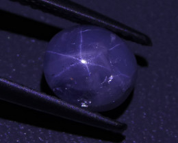 2.09 ct Unheated Blue Ceylon Star Sapphire - $1 No  Reserve Auction