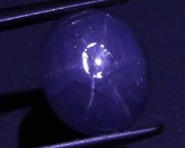3.60 ct Unheated Blue Ceylon Star Sapphire