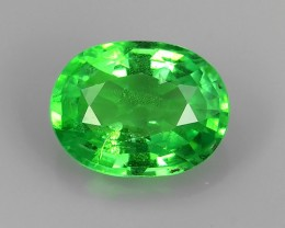 ~ATTRACTIVE LUSTER GREEN NATURAL TSAVORITE GARNET~