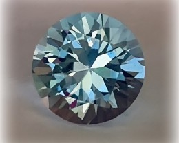 Superb Mastercut Topaz - 9.00mm Brilliant cut VVS gem