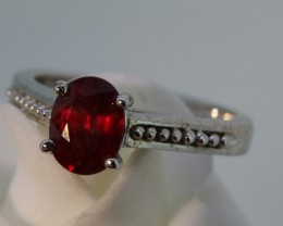 24.45- CTS  RUBY RING  SG-2741