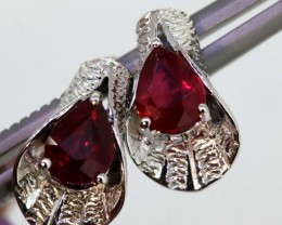 21.05 CTS -RUBY  EARRING CTS   SG-2743