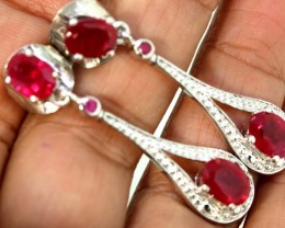 34.75 CTS -RUBY  EARRING CTS   SG-2744