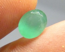 1.63cts Neon Green Emerald , 100% Natural Gemstone