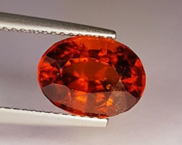 4.70 ct Collective Gem Oval Cut Natural Hessonite Garnet