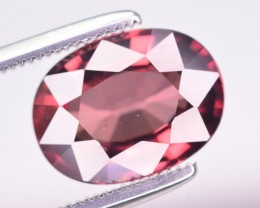Certified 4.68 Ct Amazing Color Natural Pink Zircon ~ Cambodia