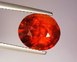 5.07 ct Rare & Lovely Oval Cut Natural Hessonite Garnet