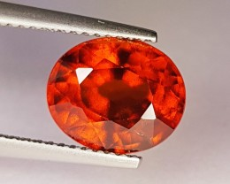 4.42 ct Collector Gem Oval Cut Natural Hessonite Garnet