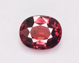 Certified 4.01 Ct Amazing Color Natural Pink Zircon ~ Cambodia