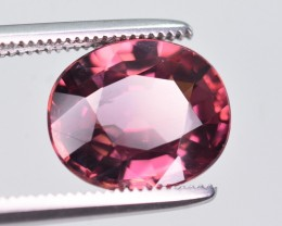 Certified 4.26 Ct Amazing Color Natural Pink Zircon ~ Cambodia