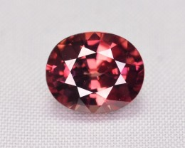 Certified 2.68 Ct TOP Color Natural Pink Zircon ~ Cambodia