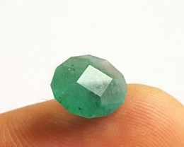 2.45CTS -Emerald  - Oval Cut - 16 x 10 x 7.5 mm - Oiled - Brazil