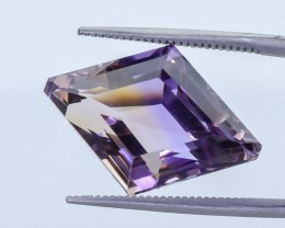 13.05 Crt Ametrine Top Quality Faceted Gemstone (R32)