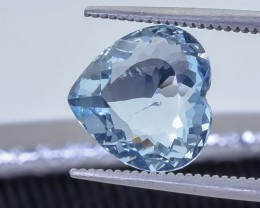 2.75 Crt Aquamarine Faceted Gemstone (R32)