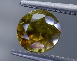 1.0 Crt Chrome Sphene Faceted Gemstone (R32)