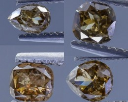 0.95 Crt Diamond Parcels Faceted Gemstone (R32)