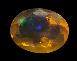 1.10CT FACETED OPAL HIGH FIRE  BEST QUALITY GEMSTONE IGC520