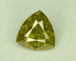 Amazing Color 1.20 ct Chrome Sphene from Himalayan Range Skardu Pakistan