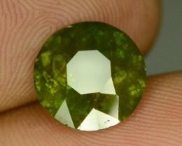Amazing Color 3.50 ct Chrome Sphene from Himalayan Range Skardu Pakistan