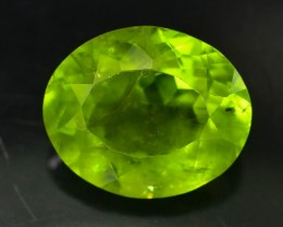 6.15 Ct Untreated Green Peridot
