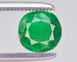 1.05 Ct Top Quality Natural Emerald From Swat ~ HJ