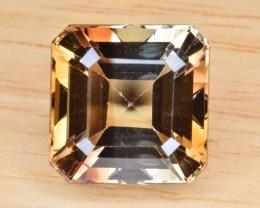 Natural Bi Color Topaz 14.04 Cts Faceted Gemstone