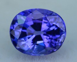 Gil Certified AAA Grade 1.21 ct Tanzanite eye catching Color SKU-8
