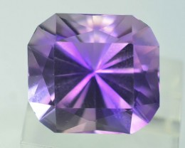 Top Color 12.10 ct AAA Cut Untreated Amethyst