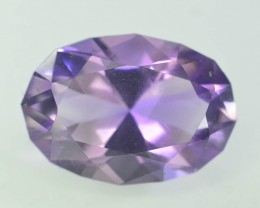 Top Color 11.75 ct AAA Cut Untreated Amethyst