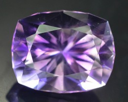 Top Color 17.60 ct AAA Cut Untreated Amethyst