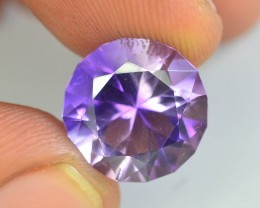 Top Color 7.0 ct AAA Cut Untreated Amethyst