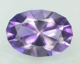 Top Color 7.40 ct AAA Cut Untreated Amethyst