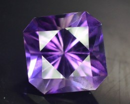 Top Color 6.70 ct AAA Cut Untreated Amethyst