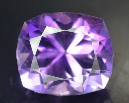 Top Color 9.20 ct AAA Cut Untreated Amethyst