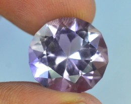 Top Color 12.50 ct AAA Cut Untreated Amethyst