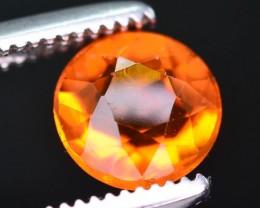 Rarest 0.55 ct Mexican Fire opal