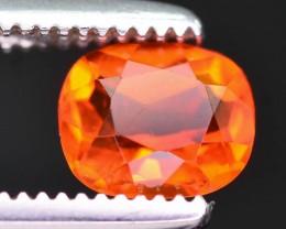 Rarest 0.40 ct Mexican Fire opal
