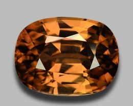 9.75 CT BROWN ZIRCON TOP CLASS LUSTER GEMSTONE BZ4