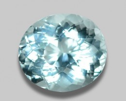 2.95 CT NATURAL AQUAMARINE GOOD CUT GEMSTONE AQ13