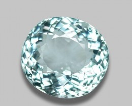 3.49 CT NATURAL AQUAMARINE GOOD CUT GEMSTONE AQ16