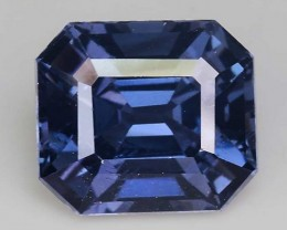 1.75 Cts Untreated Blue Spinel Excellent Color ~ Burma S51
